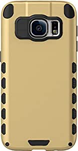Galaxy S7 Case, DEFENDER Hard Dual Layer Bumper Back Case Cover For Samsung Galaxy S7 (Gold) - By DEFENDER