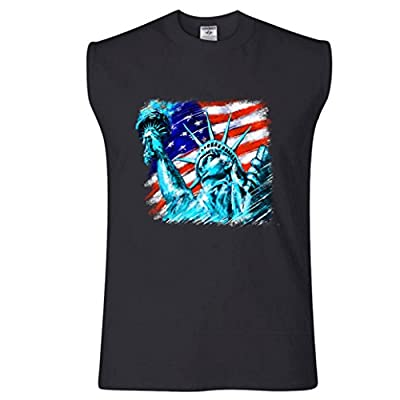 Statue Of Liberty USA Sleeveless T-Shirt