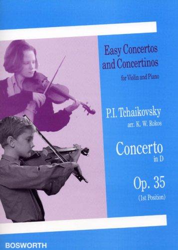 Pyotr Ilyich Tchaikovsky: Violin Concerto in D (Op.35)