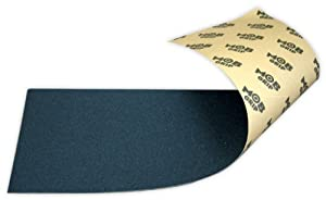 "Mob Skateboard Grip Tape Sheet Black 9"" BUBBLE FREE"