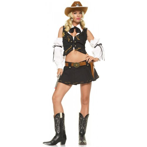 Good Sheriff Costume - Large - Dress Size 12-14