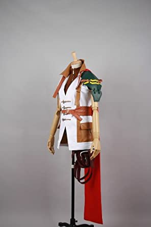 Cool-Coser Cosplay Costume X-Large Size Final Fantasy XIII LightningJapanese Girl Boy Party Fiesta Festival Dress For Coser