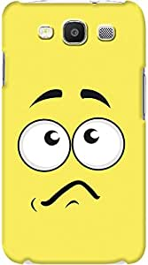 Kasemantra Confused Face Case For Samsung I9300 Galaxy S3