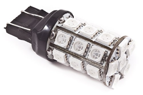 Diode Dynamics 7443 Smd27 Led Bulb (7444), Red (Pair)