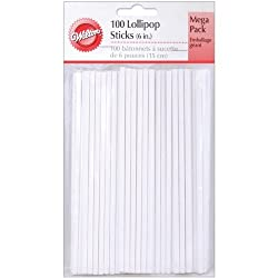 Wilton 6 Inch Lollipop Sticks