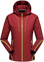WenVen Couple39s WinterampAutumn Waterproof Fast-Drying Jacket