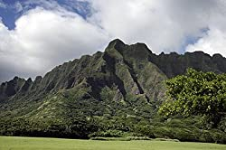 Beautiful Hawaiian Mountains - Lovely 16x20-inch Photographic Print by Carol M. Highsmith