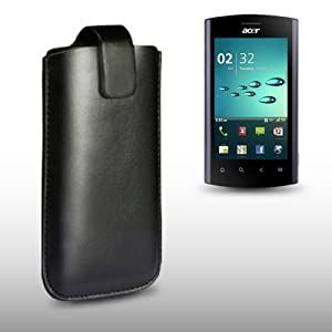 ACER LIQUID MT BLACK PU LEATHER CASE BY CELLAPOD CASES