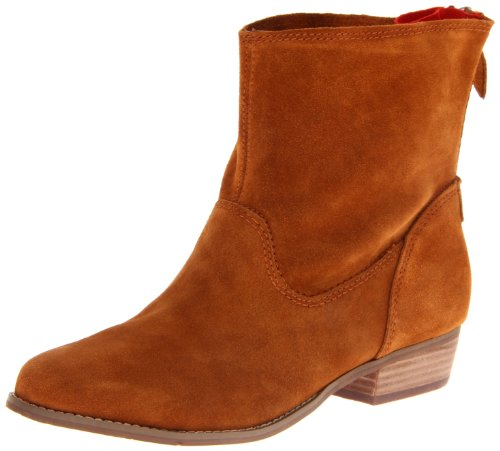 Dv By Dolce Vita Women'S Marce Ankle Boot, Cognac, 7.5 M Us