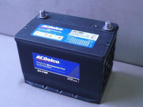 ACデルコ プレミアムバッテリー 北米車用 メンテナンスフリー 34-7MF