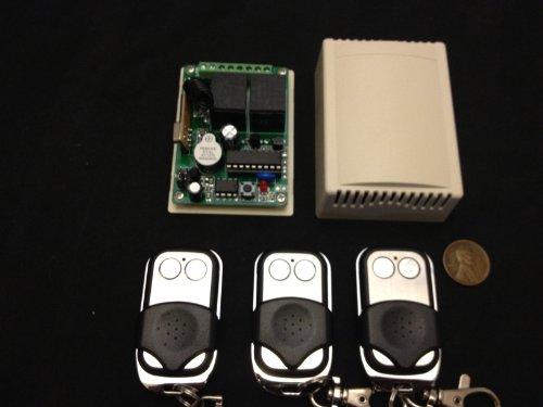 (3 Remotes ) Rf Wireless Electric Garage Gate Door Remote 2 Channel A5