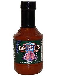 The Bar-b-q Shop\'s Dancing Pigs Bar-b-que Sauce (Bbq) 18 Ounce (Original)