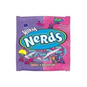 Wonka Nerds Grape Strawberry Candies - 1.6 Oz Each X 36 Per Pack