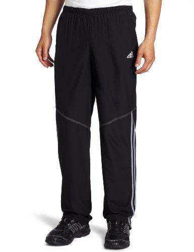 adidas adidas Men's response Drei Streifen Wind Pant, Black/White, X-Large