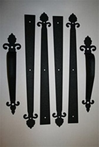 Carriage or Garage Door Decorative Hardware - Barcelona Style (Garage Door Decorative Handles compare prices)