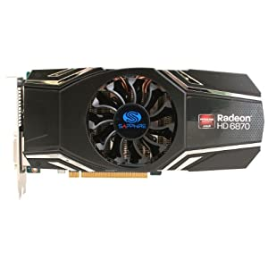 Sapphire Radeon HD 6870 1GB DDR5 DL-DVI-I / SL-DVI-D / HDMI / DP PCI-Express Graphics Card