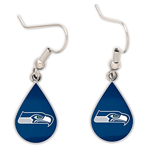 NFL-Seattle-Seahawks-Tear-Drop-Earrings-Large-Multi