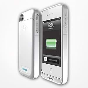 PhoneSuit ELITEIP4W Elite 2100 mAh Battery Case for iPhone 4/4S- Retail Packaging