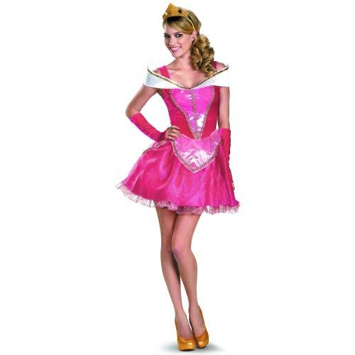 Disguise Inc Disney Sassy Princess Aurora Adult Womens Costume Pink Adult Medium