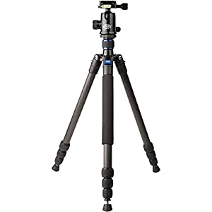 Davis & Sanford TR553-P228 Traverse Super Compact Tripod with Ball Head (Black)