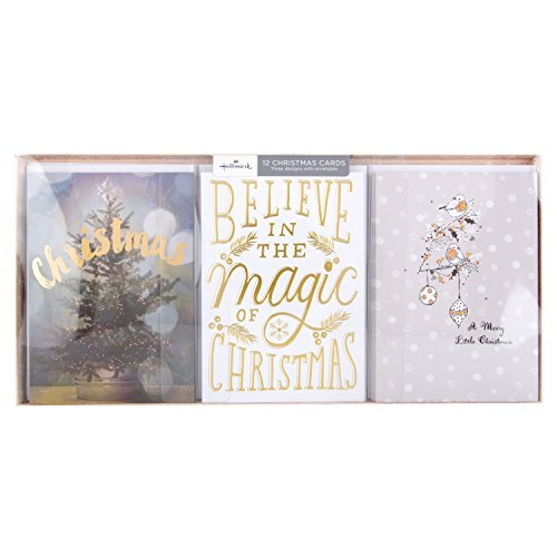hallmark-christmas-card-pack-believe-in-magic-12-cards-3-designs