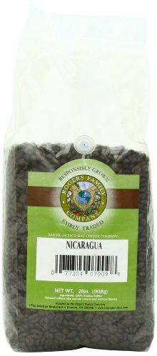 San Francisco Bay Coffee Whole Bean Nicaragua Coffee, 32-Ounce Bag