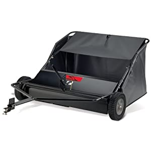 Brinly STS-42LXH 20 Cubic Feet Tow Behind Lawn Sweeper, 42-Inch by Brinly Hardy