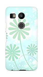 Amez designer printed 3d premium high quality back case cover for LG Nexus 5x (Design 1)