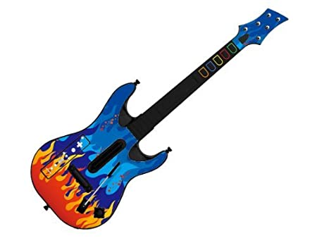 Decorative Skin fits Guitar Hero 5 for Wii (GUITAR NOT INCLUDED), Item No.GTW0996-5