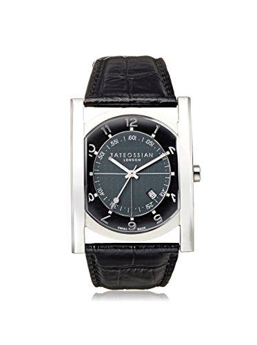 Tateossian WA0009 Tempo Sport Black Stainless Steel Watch