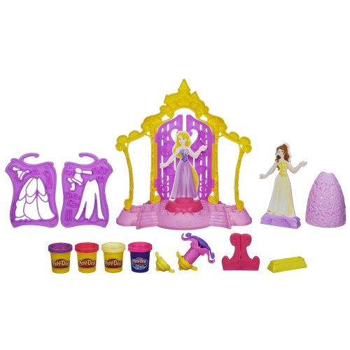 Play-Doh Disney Princess Design-a-Dress Boutique Set (Play Dough Shape Makers compare prices)