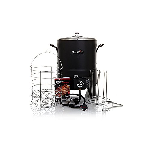 Char-Broil The Big Easy TRU-Infrared Oil-Less Turkey Fryer Bundle with 2 Leg Racks and Kabob Set (Oilless Turkey Fryers Propane compare prices)
