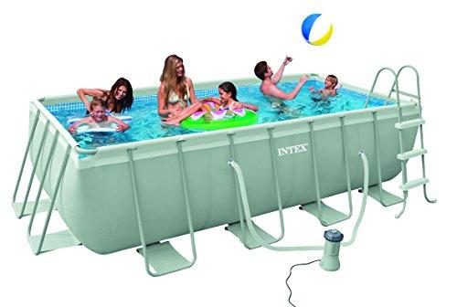 Intex 28037 copripiscina rettangolare 400x200 cm piscine for Piscine intex amazon