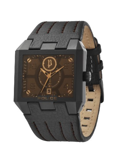Police Prowler Brown Dial Watch 12551JSB/61