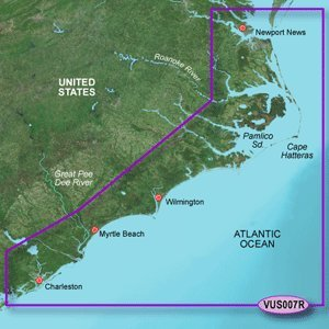 Garmin Vus007R Norfolk Charleston Bluechart G2 Vision Garmin Vus007R Norfolk Charleston Bluechart G