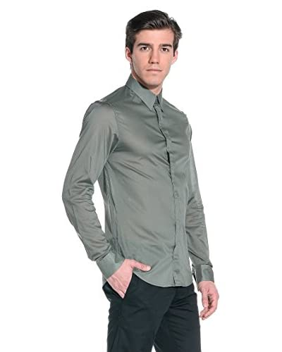 Costume National Camisa Hombre Verde