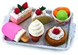 IWAKO Japanese Eraser Dessert Set - Colors Vary