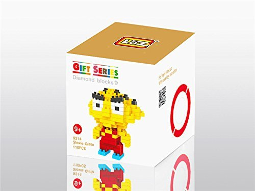 LOZ Diamond Blocks Nanoblock Stewie Griffin Educational Toy 110PCS - 1