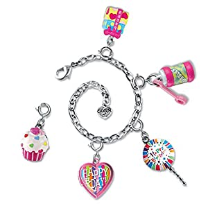 CHARM IT! Happy Birthday Charm Bracelet & 5 Charm Set in Jewelry Box