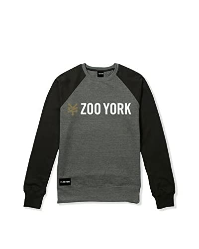Zoo York Sudadera Gallant Gris Oscuro / Negro