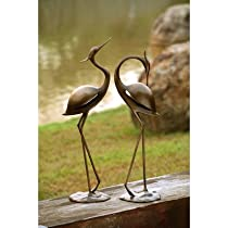 Big Sale SPI Home 33350 Stylized Garden Heron Pair Sculpture