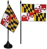 USA Maryland Table Flag 4 x 6 inch