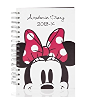 Minnie Mouse 2013-14 Mid-Year Academic Diary