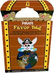 Pirate'S Treasure Goody Bag With 7 Favors