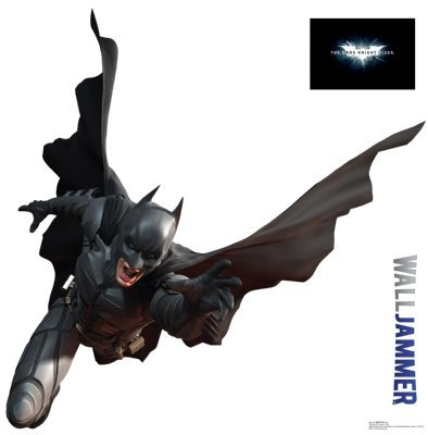 WJ1168 Batman 48 Inch Vinyl Wall Graphic Sticker Decal Dark Knight Rises Comic DC