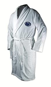 Penn State Nittany Lions White Heavy Weight Bath Robe