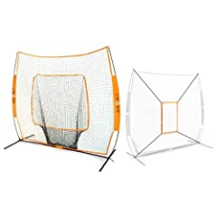 Buy Bow Net Baseball Softball Big Mouth Portable Net w  Bow Net Strike Zone Accessory by Bow Net