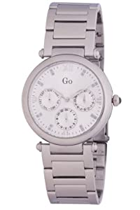 Go Women's Silver Stainless-Steel band watch.