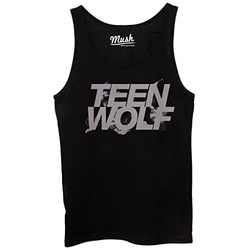 Canotta TEEN WOLF - FILM by Mush Dress Your Style - Donna-M-Nera