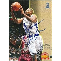 J.R. Smith Autographed Hand Signed Basketball Card (New Orleans Hornets) 2005 Bowman...